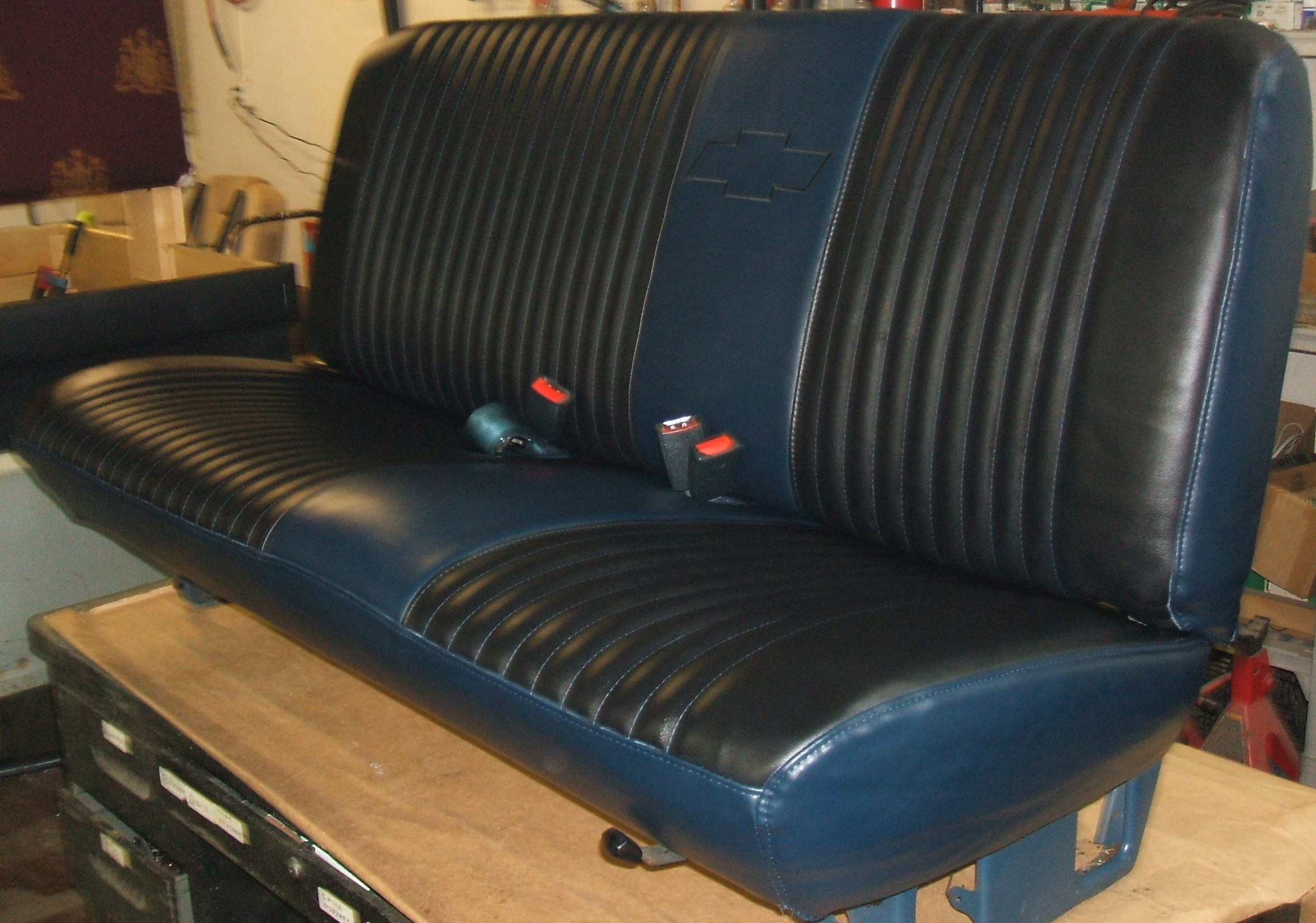 Superb img of  seating fabricated to 1986 chevy truck bench seat for sale autos post with #9D702E color and 2355x1653 pixels