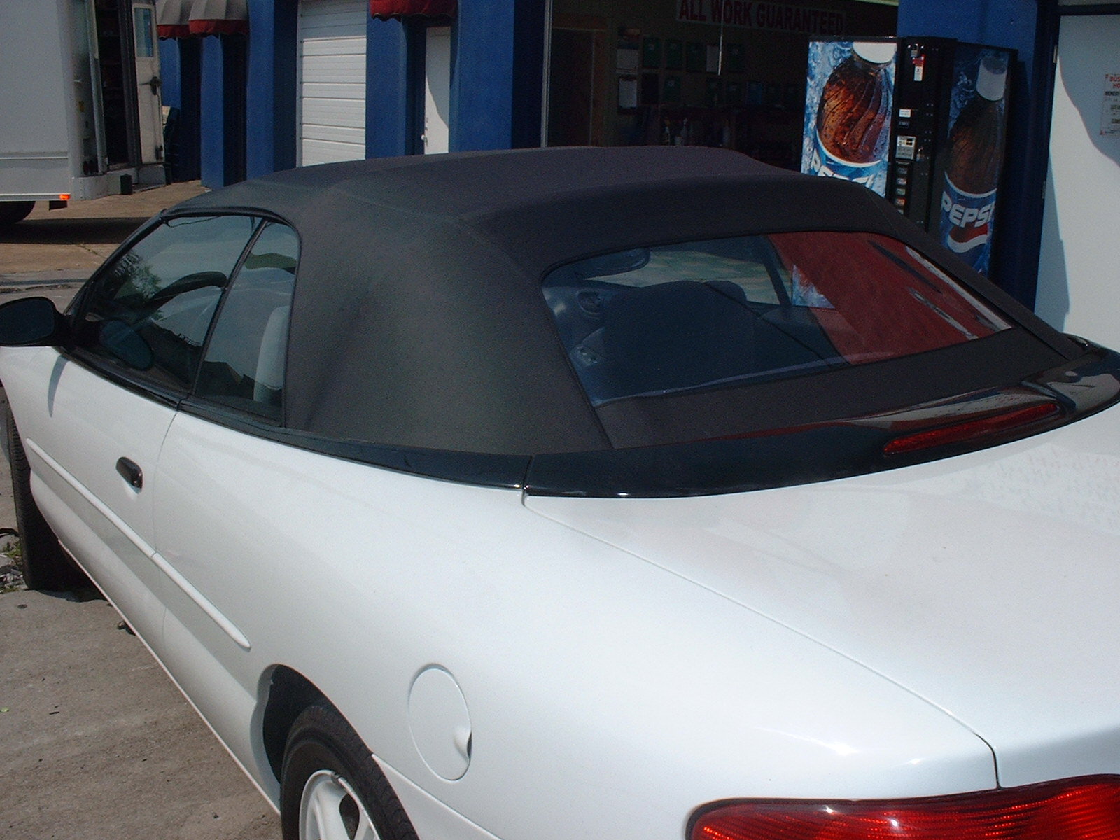 Convertible top replacement 1998 chrysler sebring convertible top replacement this rear window is also glass but they are available in plastic publicscrutiny Images